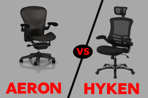 Aeron vs Hyken Chair