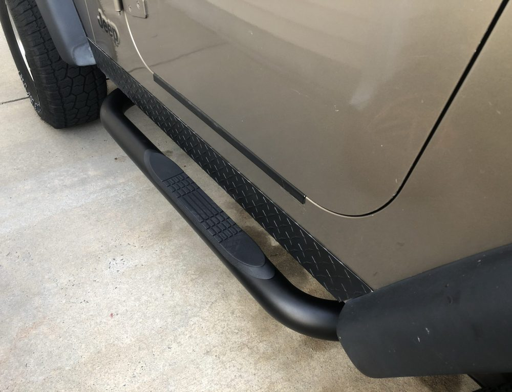 How to Install Running Boards on a Jeep TJ or YJ (for $100!)